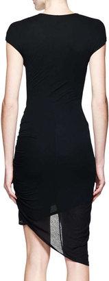 Helmut Lang Slack Twist Jersey Dress