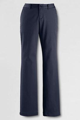 Lands' End Women's Pre-hemmed Feminine Fit Flare Pants