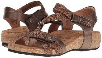 Taos Footwear Trulie (Black) Women's Sandals