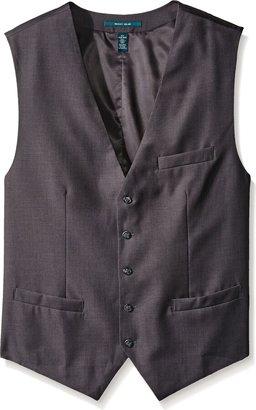 Perry Ellis Men's Big-Tall P V Solid Vest