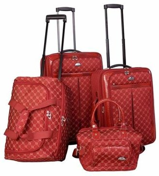 American Flyer Signature 4pc Softside Luggage Set