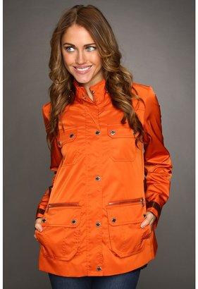 Calvin Klein Utility Pocket Jacket (Burnt Orange) - Apparel