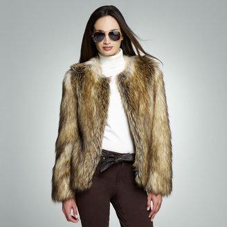Jones New York Faux Fur Jacket