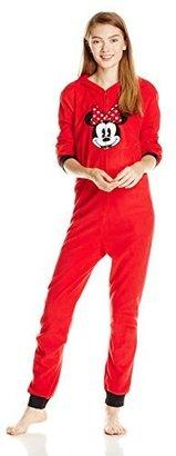 Disney Women's Minnie Mouse Microfleece Jumpsuit $64.50 thestylecure.com