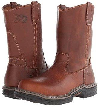 Wolverine Raider Multishoxtm 10 Steel Toe (Brown) Men's Boots