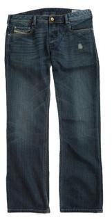 Diesel Mens Industry Zatiny Denim Straight Leg Jeans
