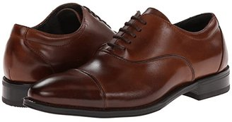 Stacy Adams Kordell (Black Leather) Men's Lace Up Cap Toe Shoes