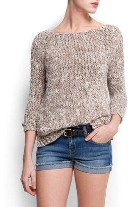 MANGO Chunky knit sweater