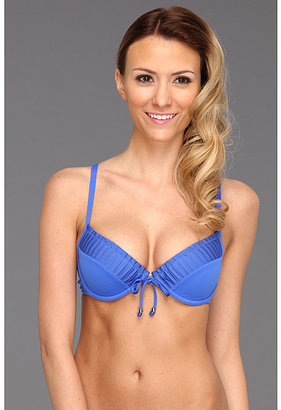 Seafolly Goddess Sweetheart Pleated Bustier Top