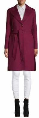 Max Mara Classic Wool, Silk Cashmere Coat