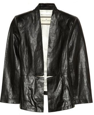 By Malene Birger Juliesse textured-leather blazer