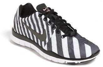 Nike 'Free TR Fit 3 Print' Training Shoe (Women) Atomic Pink/ Navy/ White 11 M