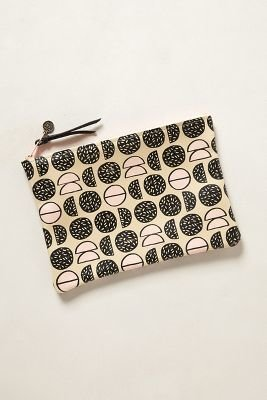 Anthropologie Falconwright Pomegranate Pouch