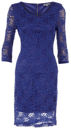 Alice & You Royal blue lace dress