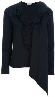 Issey Miyake Vintage cape detail blouse