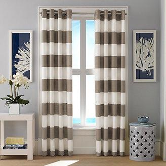 Cabana Stripe Crockery Curtain Panel Set
