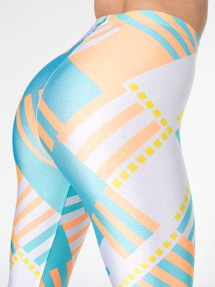 American Apparel Geometric Printed Nylon Leggings