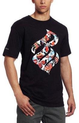 Rocawear Men's Short Sleeve Tropical Flame T-Shirt
