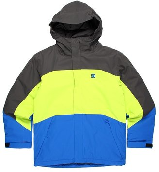 DC Kids - Amo K 13 Insulated Jacket (Little Kids/Big Kids) (Shadow/Lime/True Blue) - Apparel