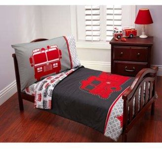 Carter's Fire Truck 4-Piece Toddler Bedding Set
