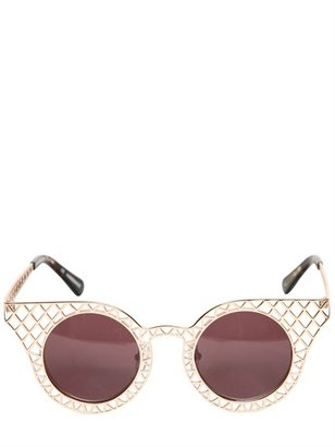 House of Holland Cage Fighters Brass Acetate Sunglasses