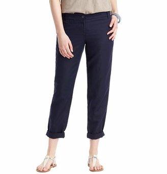 LOFT Tall Julie Linen Cotton Cropped Weekender Chinos