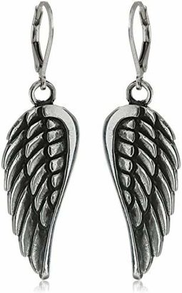 King Baby Large Wing Hook Earrings $180 thestylecure.com