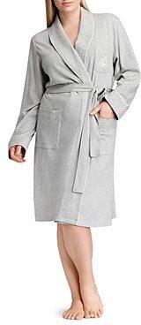 Ralph Lauren Ralph Plus Quilted Collar & Cuff Short Robe