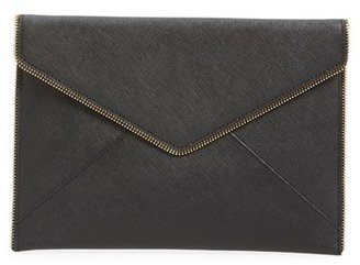 Rebecca Minkoff 'Leo' Envelope Clutch - Black $95 thestylecure.com