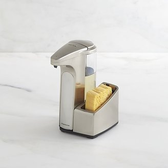 Simplehuman Sensor Soap Pump with Stainless Steel Caddy.