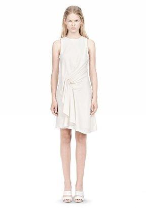 Alexander Wang Cascade Front Sleeveless Dress