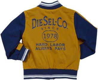 Diesel 'Jixxob' Reversible Jacket (Toddler) - Yellow-36 Months