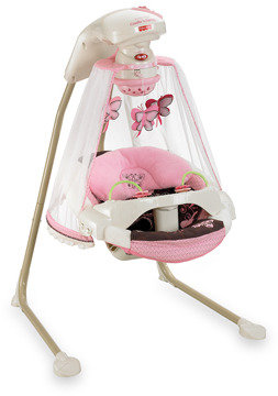 Fisher-Price Butterfly Cradle 'n Swing