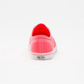 Vans Neon Authentic Lo Pro Girls Shoes