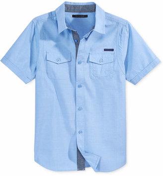 Sean John Boys' Flight Woven Shirt $29.50 thestylecure.com