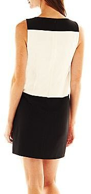 JCPenney Maggie Boutique Colorblock Shift Dress