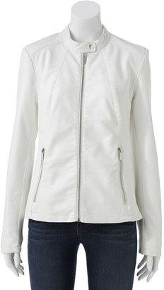 Apt. 9 faux-leather jacket - women's