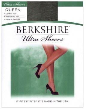 Berkshire Plus Size Ultra Sheer Control Top with Reinforced Toe Hosiery 4418