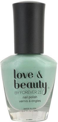 Forever 21 Love 21 Fresh Mint Nail Polish