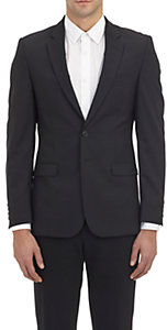 Barneys New York Men's Two-Button Sportcoat-BLACK