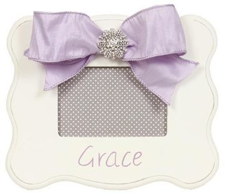 White Scalloped Frame With Personalization