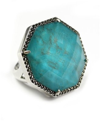 Judith Jack Ring, Abalone and Marcasite