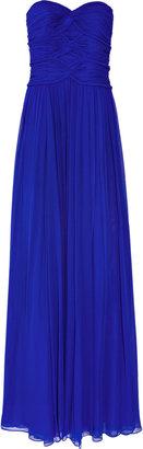 Notte by Marchesa Silk-chiffon gown