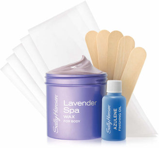 Sally Hansen Lavender Spa Body Wax Kit