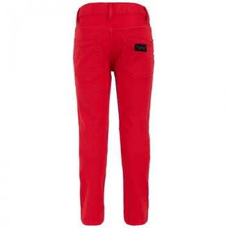 Finger In The Nose Red Skinny Jeans