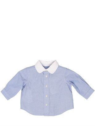 Ralph Lauren Cotton Shirt & Wool Houndstooth Trousers