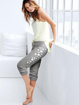 Victoria's Secret Fleece Crop Pant