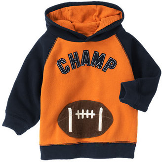 Gymboree Football Champ Hoodie