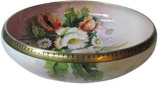 Noritake Stucco Mansion Antiques Poppies & Daisies Bowl