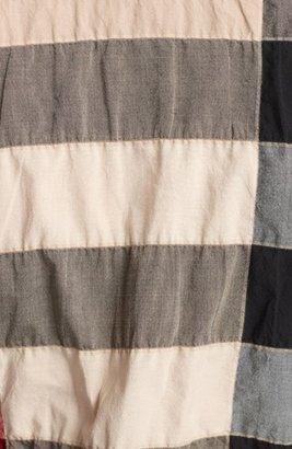 Burberry Pucker Check Print Shirt